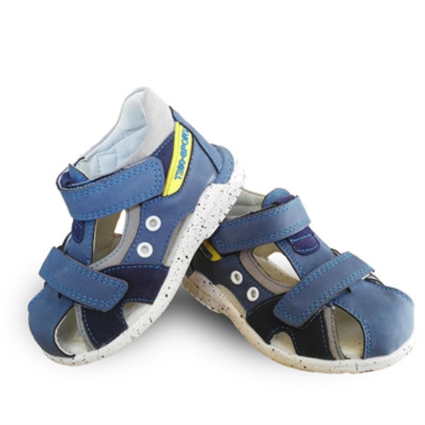 super quality 1 pair Orthopedic PU Leather Boy Sandals Children Shoes, child sandals by PEWTOU