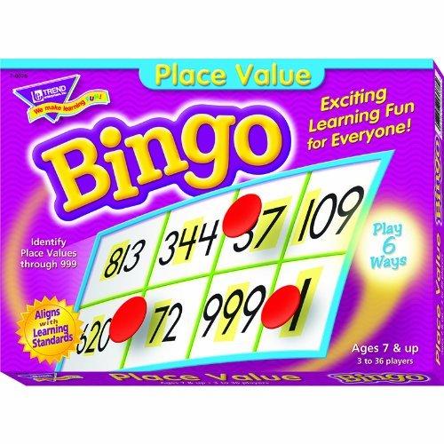 最安値挑戦! Trend T-6078 Enterprises Trend Inc Enterprises。Place値Bingo Game T-6078 B00QFX7E4G, Ecclesia(エクレシア):8fe9dded --- vietnox.com