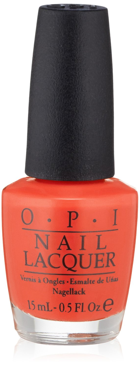 Amazon OPI Nail Lacquer A Good Man Darin Is Hard To Find 05 Fl Oz Luxury Beauty