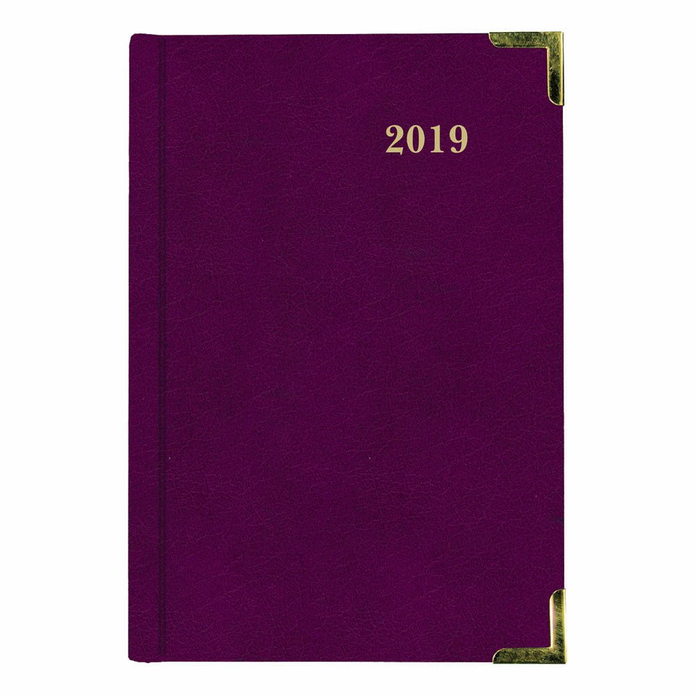 Brownline 2018 Weekly Executive Planner, Hard Black Cover, Trilingual, 8-1/4 x 5-1/22 (CBE507-2018) Blueline Canada CBE507-18