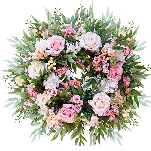Brown Artificial Wreath - U'Artlines 22
