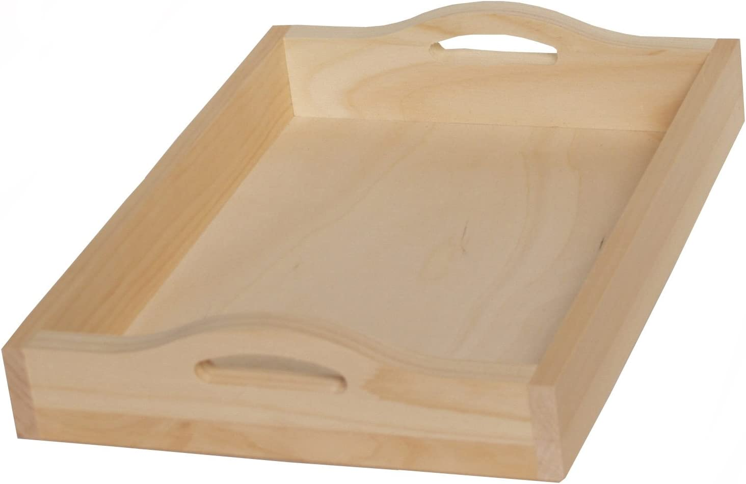 Walnut Hollow Unfinished Pine Serving Board for Arts /& Crafts Display Rectangle