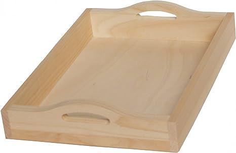 Bamboo 2.2-Inchx11.75-Inchx17.25-Inch. HOME BASICS Serving Tray