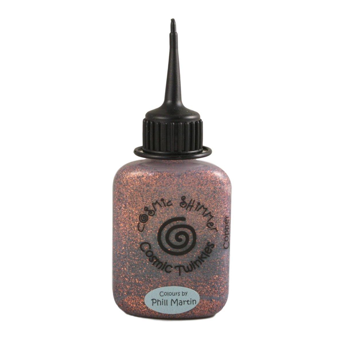 Cosmic Shimmer Twinkles Glitter Glue 30ml - Copper