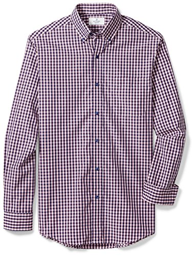Buttoned Down Men's Classic Fit Button-Collar Sport Shirt