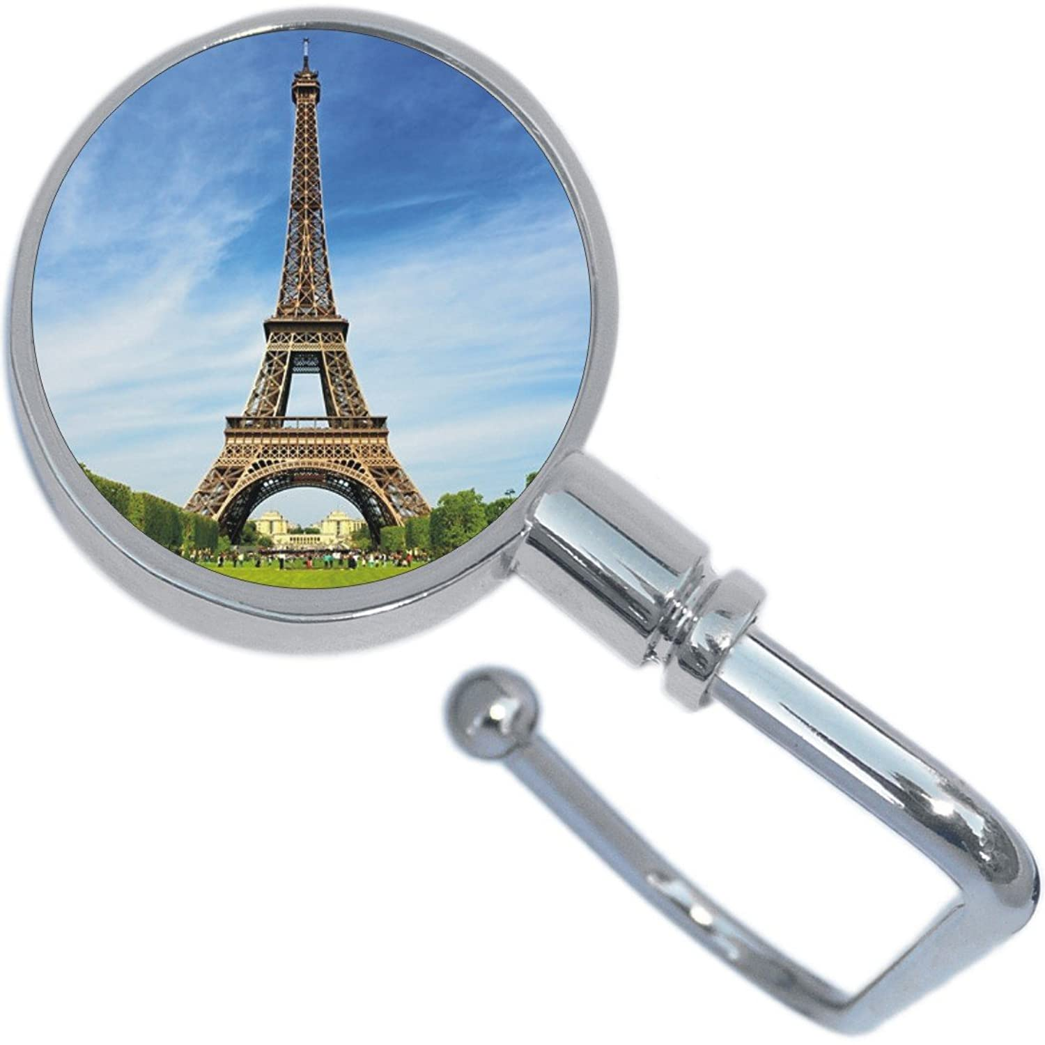 Eiffel Tower Purse Hanger and Pouch