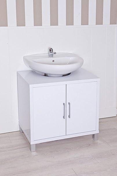 Intradisa Mueble Bajo Baño Gala 8915 Blanco Amazon Es Hogar
