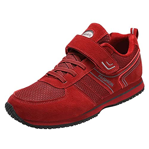 c470361c49d2 Monrinda Womens Mens Velcro Straps Trainers Touch Fastening Lightweight  Soft Low Top Sport Sneakers Slip on