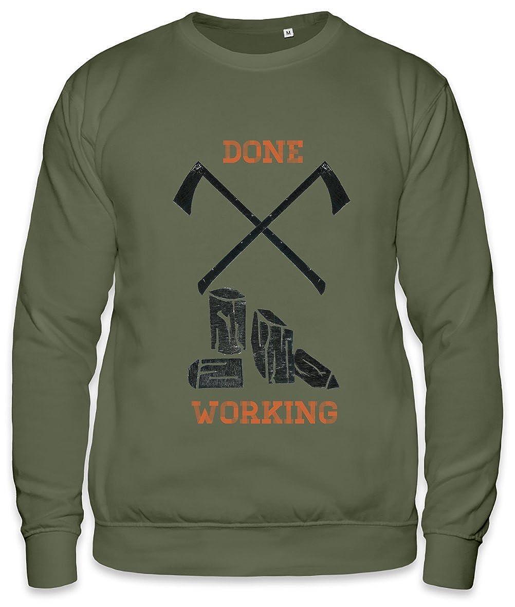 ZEUS Done Working Unisex Sweatshirt