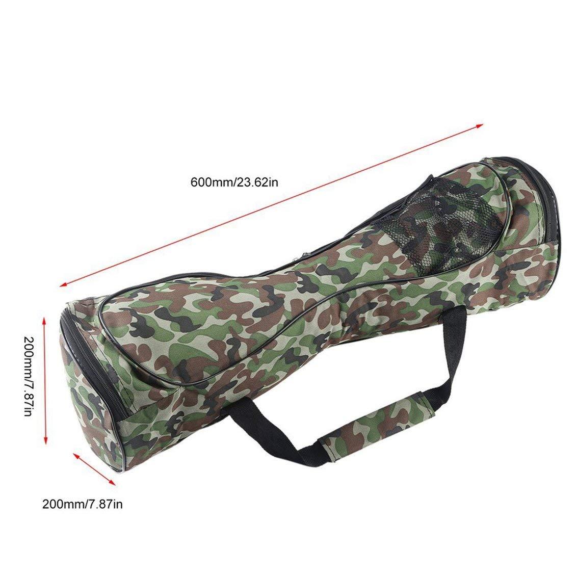 Camouflage 6,5 Pouces PGIGE 6.5 Pouces Auto-/équilibrant Portable Scooters /électriques Transporter Sac 2 Roues Auto /équilibrage Sac de Rangement /étanche Sac /à Main Hoverboard