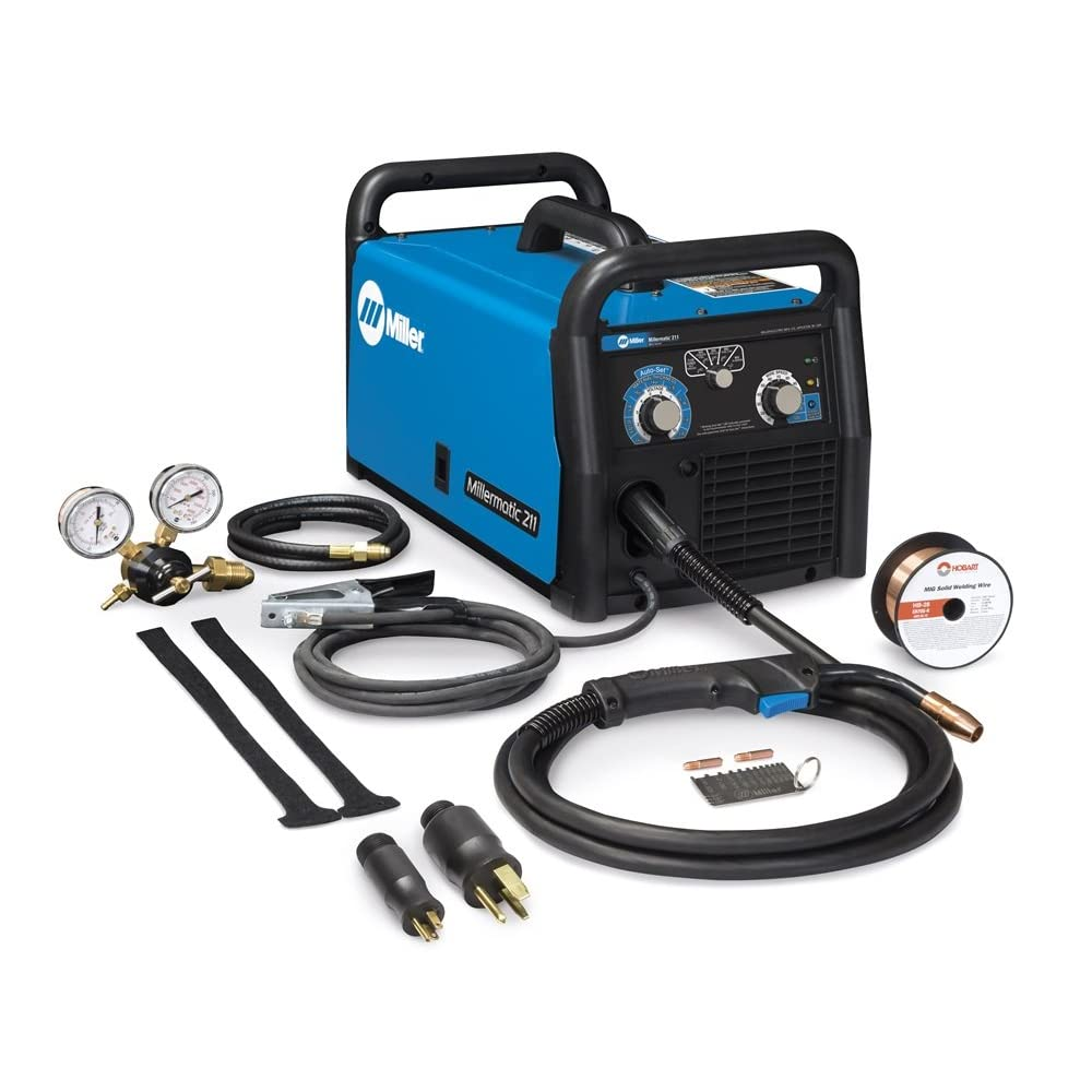 MIG Welder, 120/240VAC, 1 Phase Review