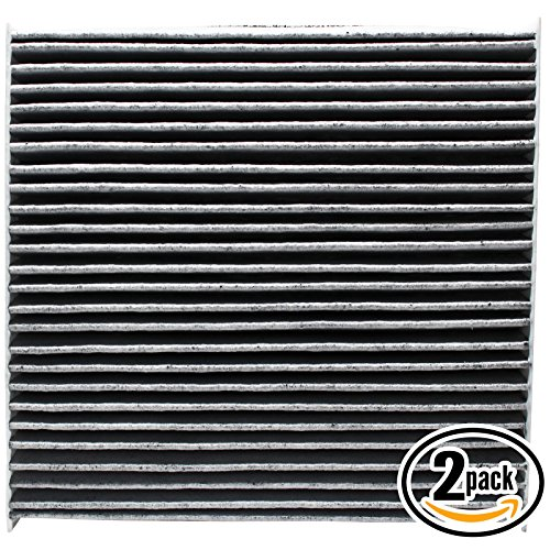 2-Pack Replacement Cabin Air Filter for 2016 Honda Civic L4 2.0L Car/Automotive - Activated Carbon, ACF-11182