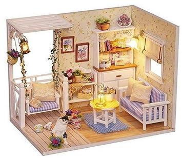 Amazon.es: ARUNDEL SERVICES EU Casa de muñecas Maqueta con ...