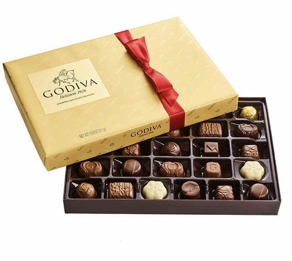 Godivas Belgium Goldmark Assorted chocolate 10.9 OZ