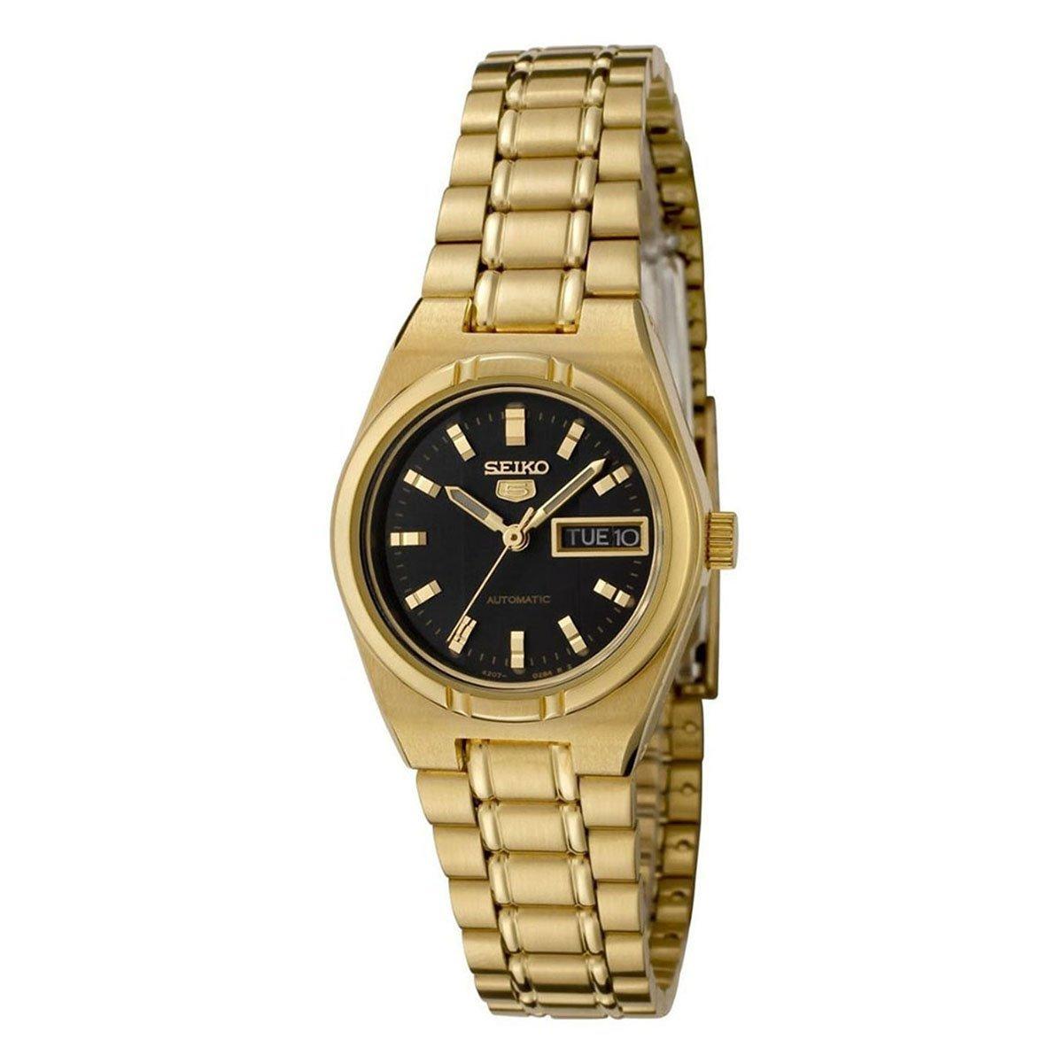 Seiko Women's 5 Automatic SYM602K Gold Stainless-Steel Self Wind Fashion Watch