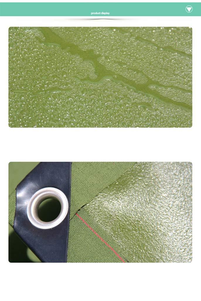 Telo pesante impermeabile prossoezione prossoezione prossoezione solare ispessimento poncho prossoezione UV bordo tenda tenda campeggio pesca giardinaggio e pet verde dell'esercito impermeabile copertura del pavimento pavimentazio B07L9Y183W 2x2m | Elegante e divertente  | Uffici e8aeb6