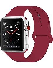 HILIMNY Correa Apple Watch 38MM 42MM, Suave Silicona iWatch Correa, Para Series 3, Series 2, Series 1, Nike+, Edition, Hermes