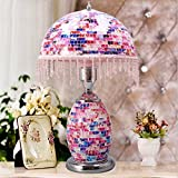 HH European-style Retro Mosaic Decorative Lighting LED Lamps