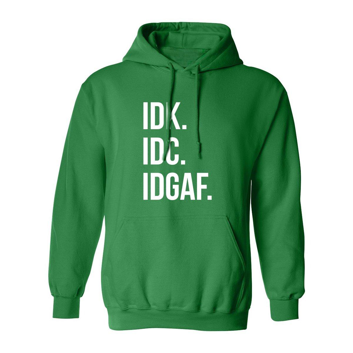ZeroGravitee IDK.IDC.IDGAF. Adult Hooded Sweatshirt PA-3815-HD