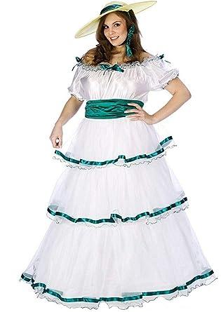 44c6f28f9e8 Amazon.com  Fun World Women s Southern Belle Costume  Clothing
