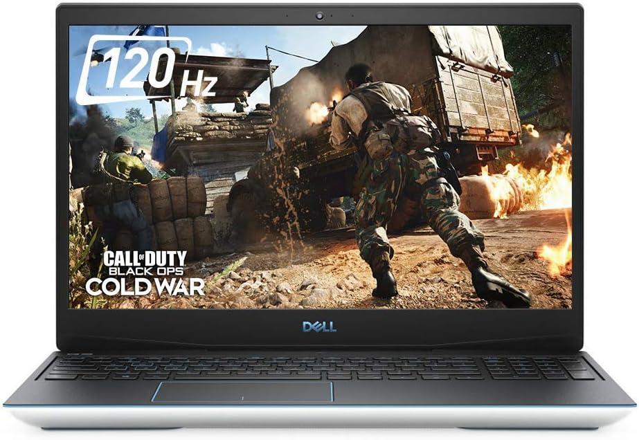 Dell G3 15 15.6 Inch FHD 512GB SSD i5 Gaming Laptop (16GB-RAM, i5-10300H, GTX 1660 Ti, Windows 10 Home) White (Renewed)
