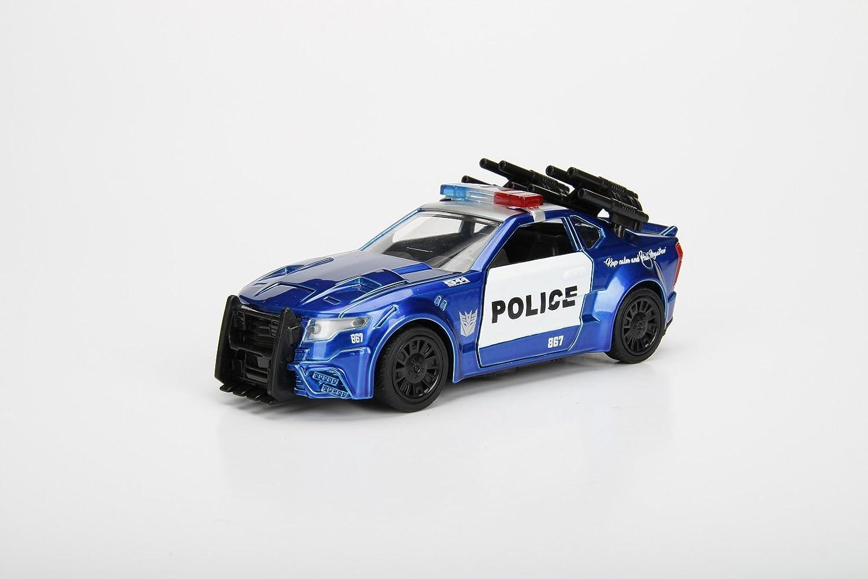 Jada 1 32 Metals Transformers Barricade Custom Police Car Diecast Model Car