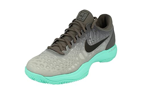 best website 65c96 0dbcd Nike Air Zoom Cage 3 Clay Mens Tennis Shoes 918192 Sneakers Trainers (UK 7  US 8 EU 41, Dark Grey Aurora Green 001)  Amazon.co.uk  Shoes   Bags