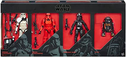 NEW Star Wars The Black Series 6-Inch Stormtrooper 4-Pack Amazon Exclusive