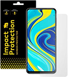 RhinoShield Screen Protector compatible with [Redmi Note 9S / 9 Pro / 9 Pro Max]   Impact Protection- High Strength Impact Damping/Dispersion Technology - Clear and Scratch Screen Protection