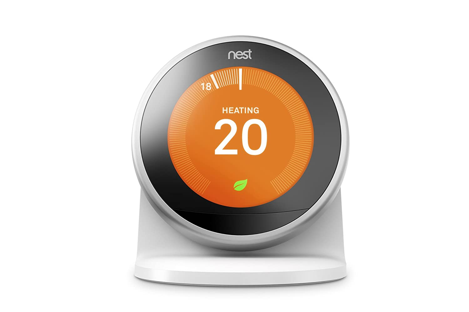 Nest Stand for The Learning Thermostat 3rd Gen. Pasivo Color Blanco - Soporte (Pasivo, Interior, Color Blanco, Nest Learning Thermostat 3rd Gen.