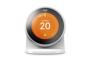 Nest Stand for The Learning Thermostat 3rd Gen. Pasivo Color Blanco - Soporte (Pasivo