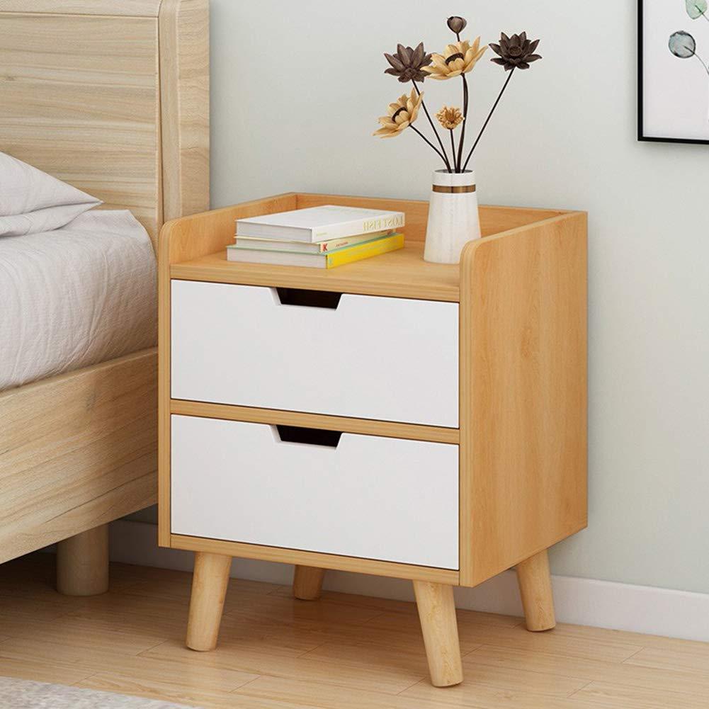 Wooden Nightstand Bedside Table Drawer End Side Storage Shelf Bedroom Furniture