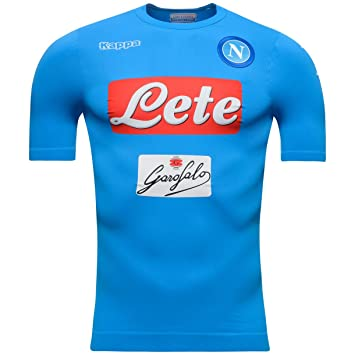 2016-2017 Napoli Kappa Authentic Home Shirt  Amazon.es  Deportes y ... a0c84b90296e8