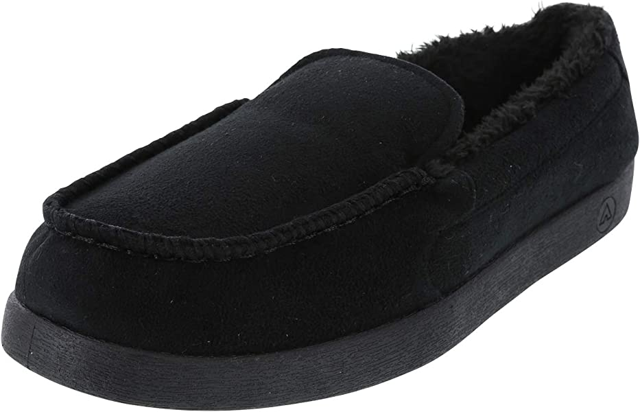 155cbd2319fc Airwalk Men s Black Men s Snowboard Moc Slipper 7 Regular