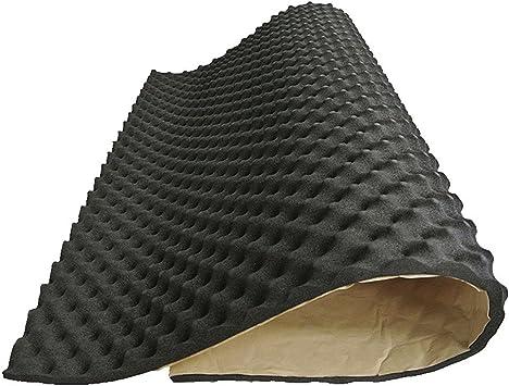 HOPQ Coussin Isolant Noir 200 x 50 cm pour Isolation Acoustique et Thermique