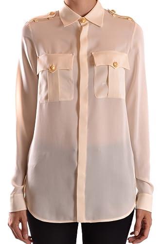 Dsquared2 Mujer S75DL0485S40249101 Blanco Seda Camisa