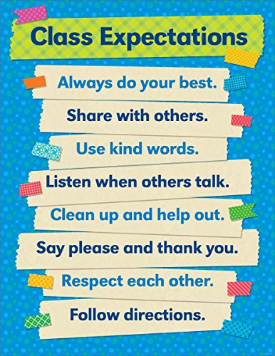 - Tape It Up!: Class Expectations Chart