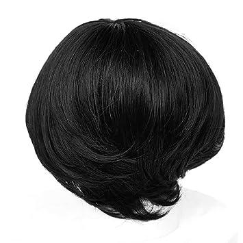 Shangke Hair Kurze Schöne Baby Haare Perücke Bob Perücken Mit Pony
