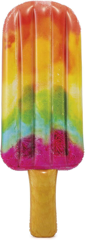 Intex 58766EU - Colchoneta hinchable Helado de colores 76 x 191 cm
