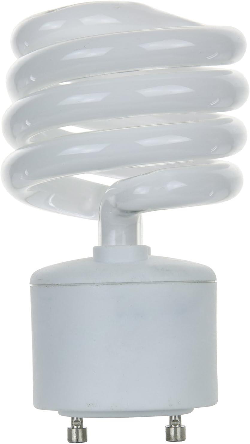 Standard Household Energy Saving CFL Light Bulb, 23 Watt, GU24 Base, 27K - Warm White,