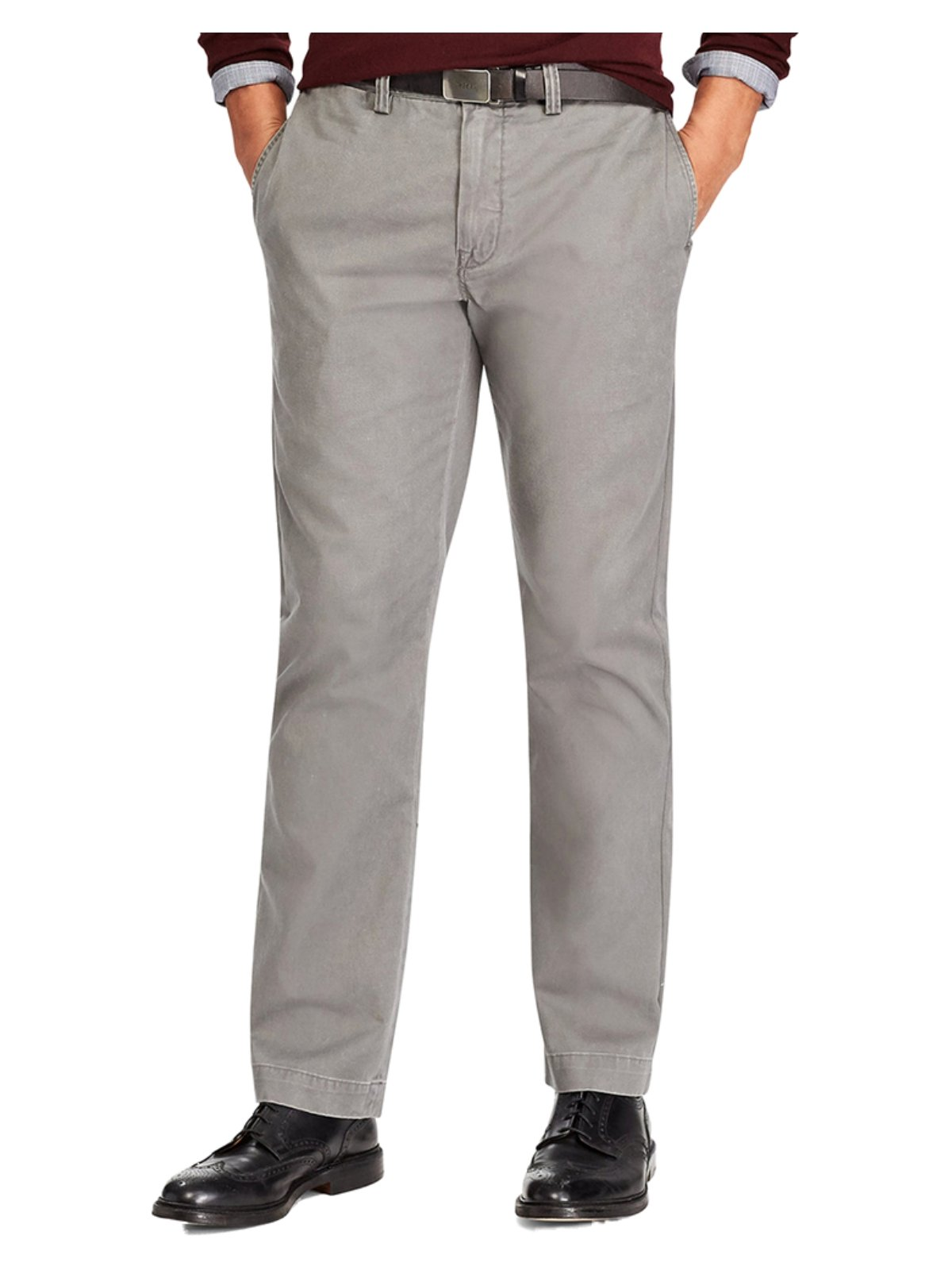 Polo Ralph Lauren Men's Big & Tall Classic Fit Chino Pants 46B x 34L Grey