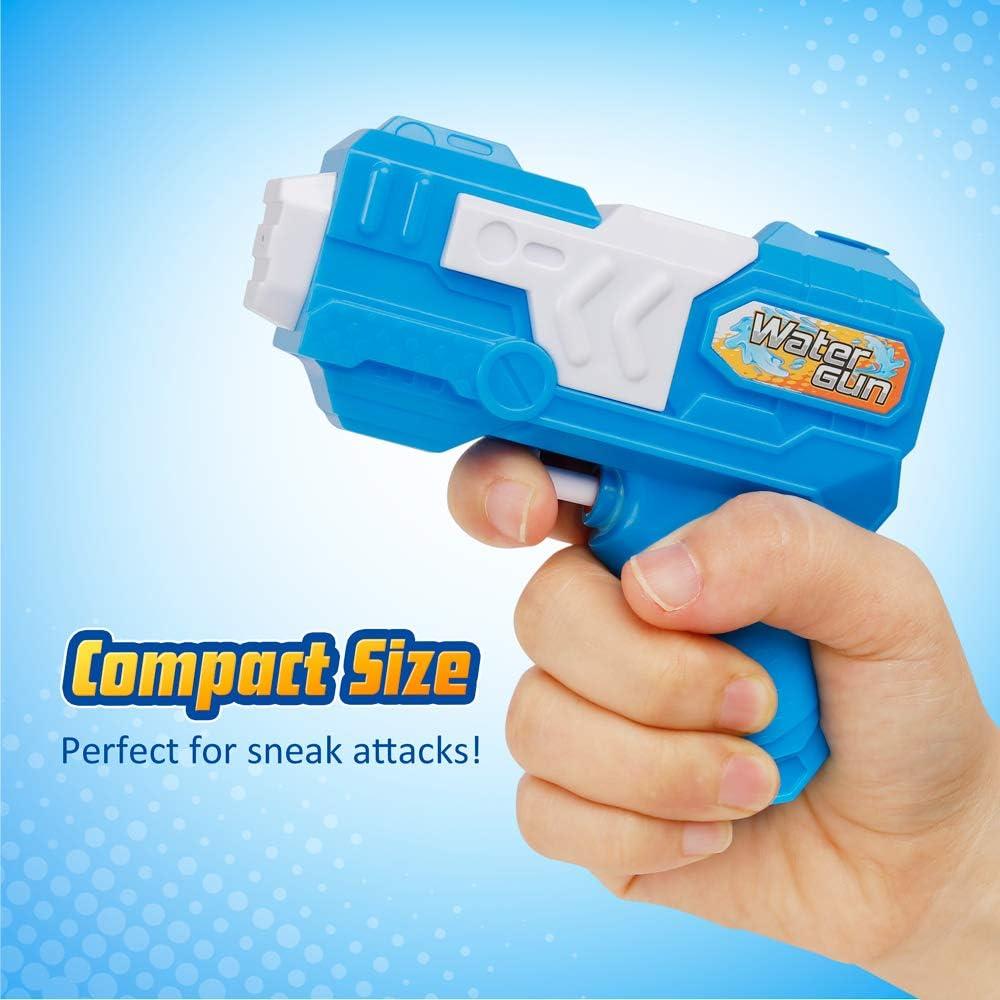 Amazon.com: D-FantiX - Pistola de agua (6 unidades), diseño ...