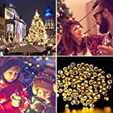 105ft 300 LED Christmas String Lights, End-to-End