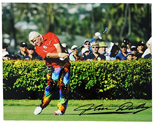 - John Daly Golf Autographed 8 X 10 PicturePaint Ball Pants