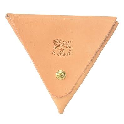 83122f65838e [イルビゾンテ] IL BISONTE イルビゾンテ 財布 C0748 120 小銭入れ 三角コインケース Naturale ナチュラル