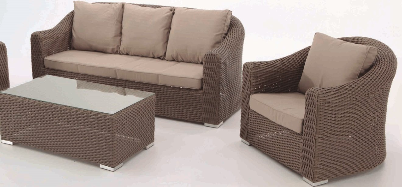 Set Gredos sofa 3 plazas: Amazon.es: Hogar