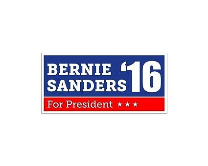amazon com car magnet bernie sanders for president bumper sticker