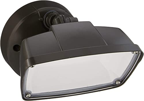 Halo FSL203TB FSL Single Head Bronze Outdoor Integrated Selectable Color Temperature, Switch Controlled LED Flood Light