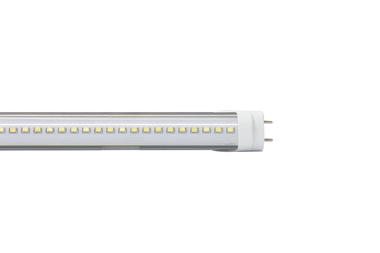 Jamara LED Leuchtmittel, Aluminium, G13, 20 W, kaltweiß, 120 x 3.2 x 3.2 cm