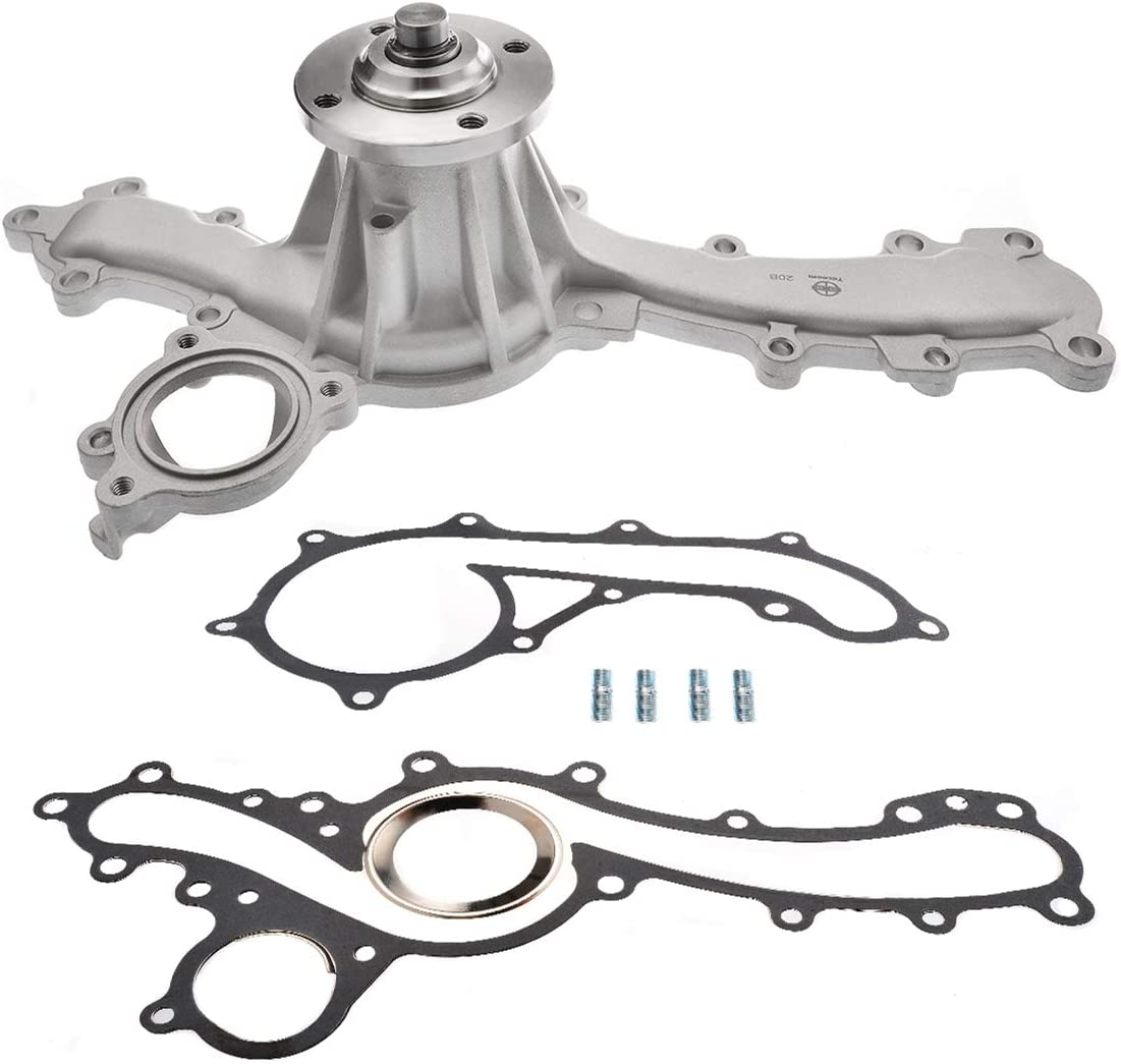 Tecoom AW6037 Professional Water Pump with Gasket Fit Toyota 4 Runner Tacoma Tundra 4.0L Engine